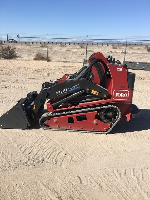 Toro TX 1000 Compact Loader-Stand On