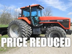 Tractor For Sale 1994 Agco Allis 9670 , 152 HP