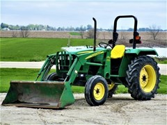 Tractor For Sale 2007 John Deere 5103 , 45 HP