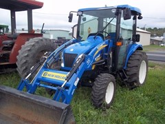 Tractor - Compact Utility For Sale 2011 New Holland Boomer 3050 CVT Cab , 50 HP