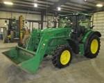 Tractor For Sale: 2015 John Deere 6125R, 125 HP