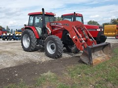 Tractor For Sale 2004 Case IH MXM120 , 95 HP