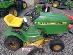 Riding Mower For Sale 1987 John Deere 185 , 17 HP