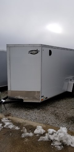 Cargo Trailer For Sale 2019 Impact Trailers TREMOR 6X12SA