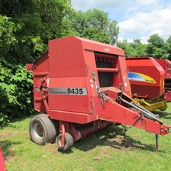 Baler-Round For Sale Case IH 8435