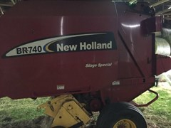 Baler-Round For Sale 2012 New Holland BR740
