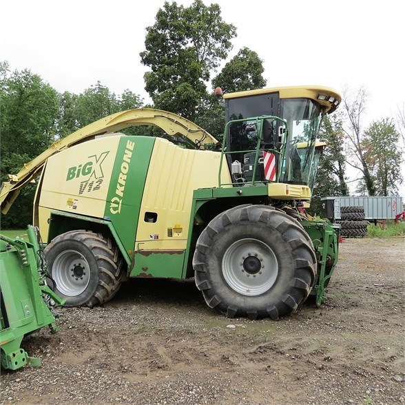 2007 Krone BIG X V12 Forage Harvester-Self Propelled For Sale