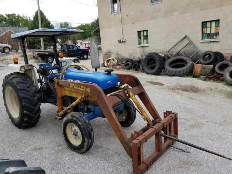 1991 Ford 4630 LDR Tractor For Sale