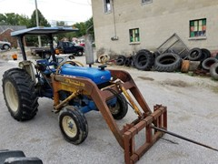 Tractor For Sale 1991 Ford 4630 LDR , 55 HP