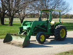 Tractor For Sale 1976 John Deere 401C , 62 HP