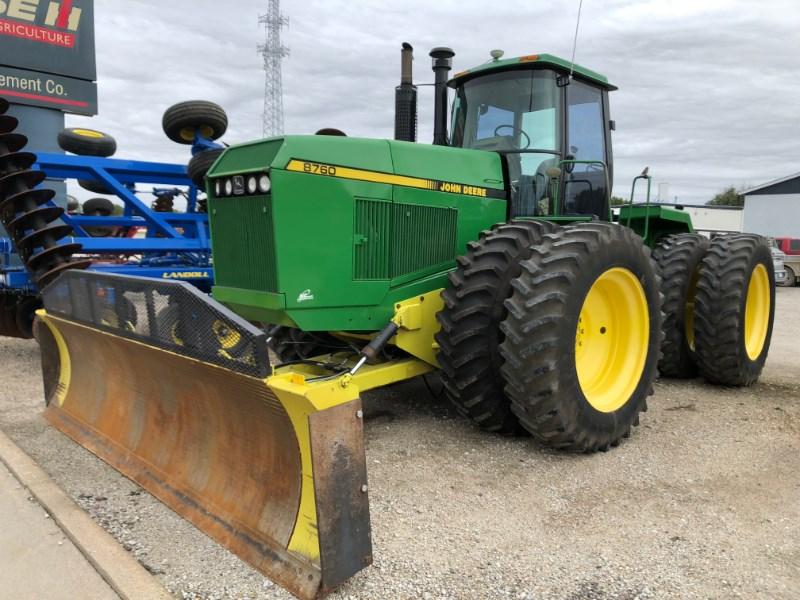 1990 John Deere 8760 Tractor For Sale