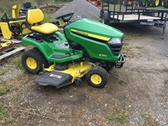 Riding Mower For Sale 2017 John Deere X350 , 18 HP