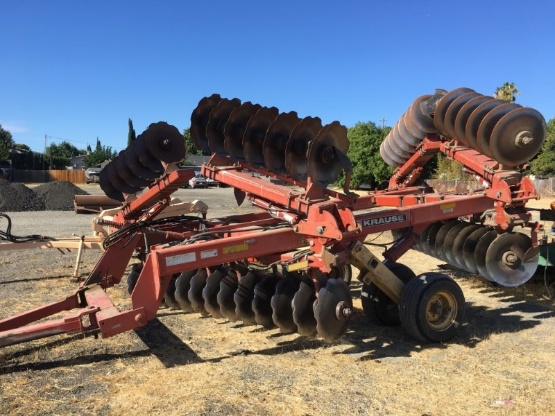 Krause 5821 Disk Harrow For Sale
