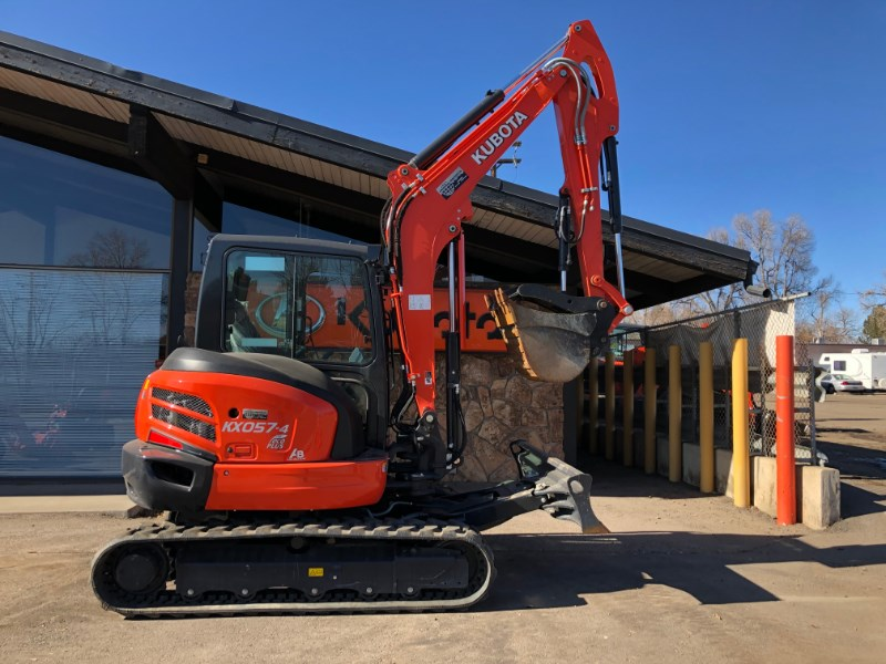 2021 Kubota KX057, Excavator-Mini For Sale