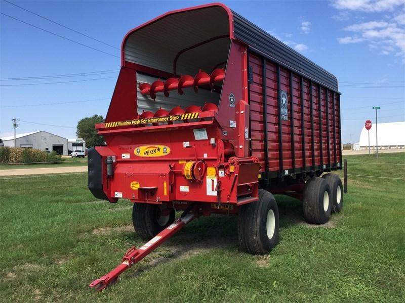 2015 Meyer RT618 Forage Box-Wagon Mounted For Sale