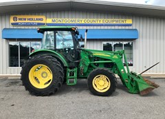 Tractor For Sale:  2009 John Deere 6115D , 115 HP