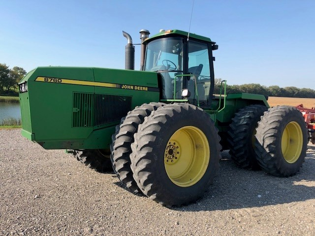 1989 John Deere 8760 Tractor For Sale