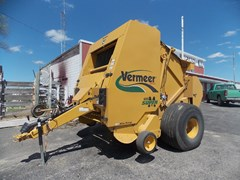 Baler-Round For Sale 2010 Vermeer 605 Super M