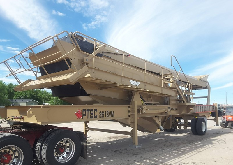 2018 ASTEC MOBILE SCREENS PTSC 2618VM Screening Plant - Hydraulic For Sale