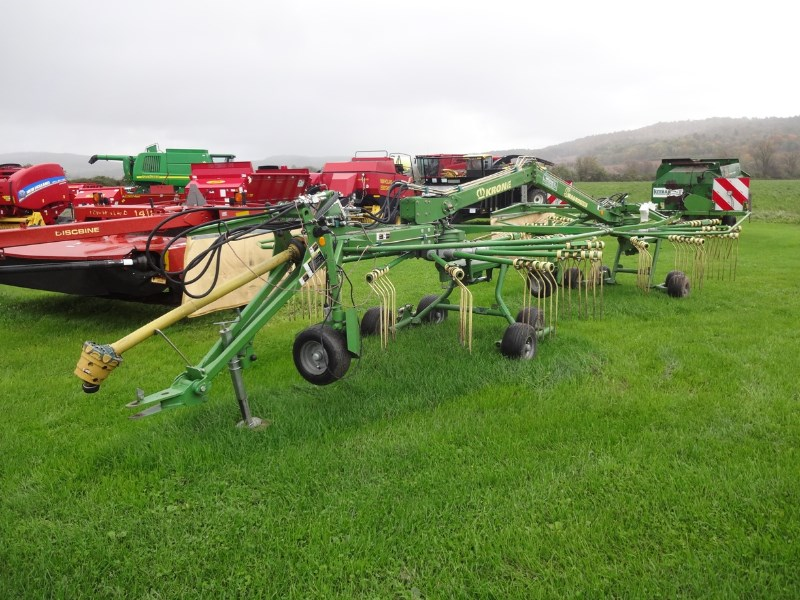 2014 Krone SW710T Hay Rake-Rotary For Sale