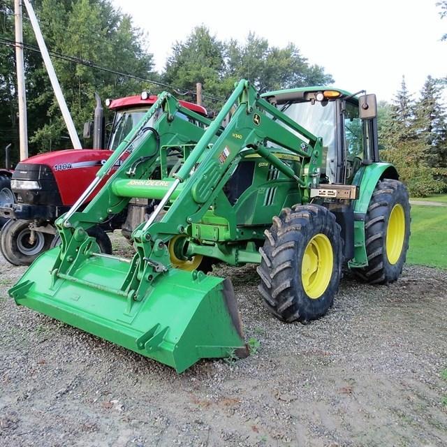 2013 John Deere 6125M Tractor For Sale