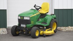 Riding Mower For Sale 2009 John Deere X740 , 24 HP