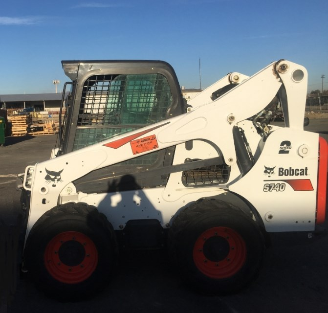 2017 Bobcat S740 Skid Steer For Sale