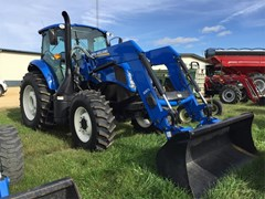 Tractor For Sale 2016 New Holland TS6.120 , 118 HP
