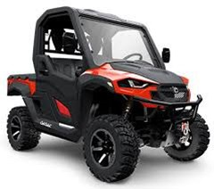 Utility Vehicle For Sale 2018 Cub Cadet Challenger CX550 Red , 28 HP