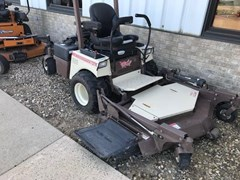 Riding Mower For Sale 2012 Grasshopper 727 EFI w/61: side discharge deck