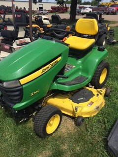 Riding Mower For Sale 2010 John Deere X340