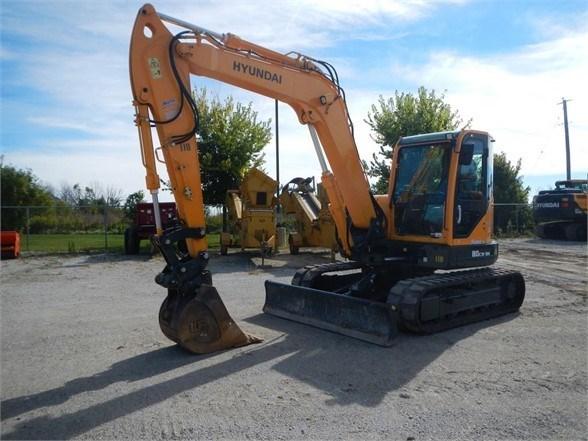 2017 Hyundai ROBEX 80CR-9A Excavator-Track