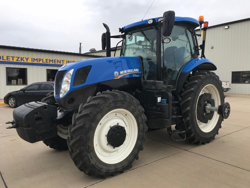 2014 New Holland T7.260 SIDEWINDER II Tractor For Sale
