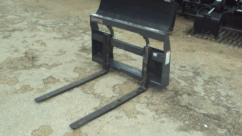 Virnig Virnig pallet forks for compact tractors & small s Skid Steer Attachment For Sale