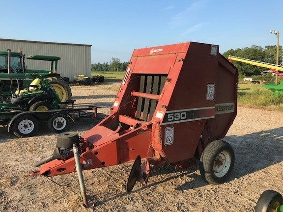 Hesston R530 Baler-Round For Sale