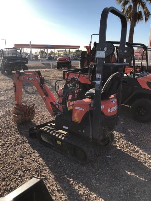 Kubota K008 Excavator-Track For Sale