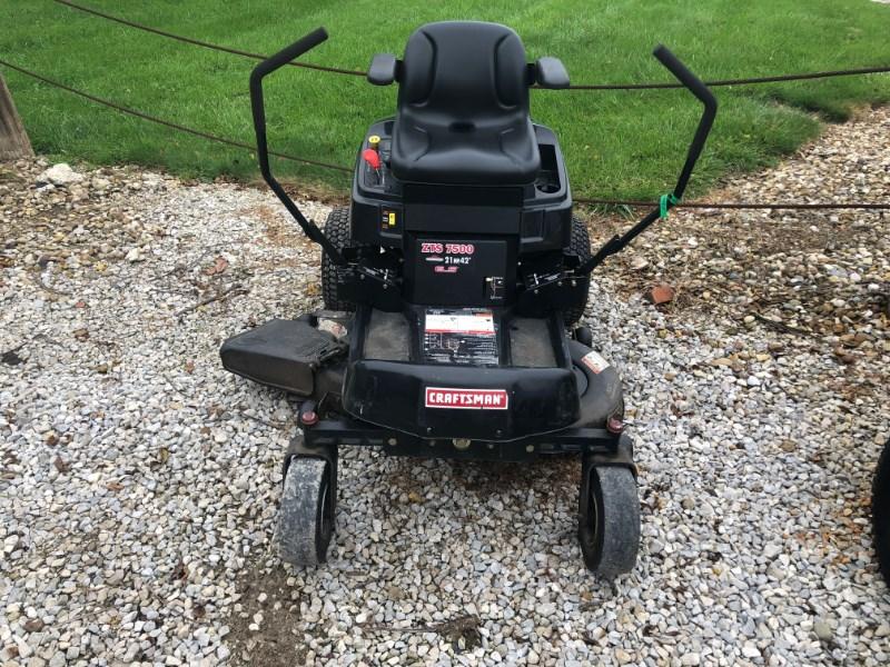 Craftsman ZTS7500 Zero Turn Mower For Sale