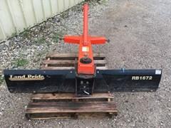 Misc. Ag For Sale:   Land Pride RB1672