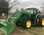 Tractor For Sale: 2016 John Deere 6145R, 145 HP