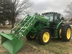 Tractor For Sale 2016 John Deere 6145R , 145 HP