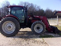 Tractor For Sale 2009 Case IH MAXXUM 125 , 125 HP