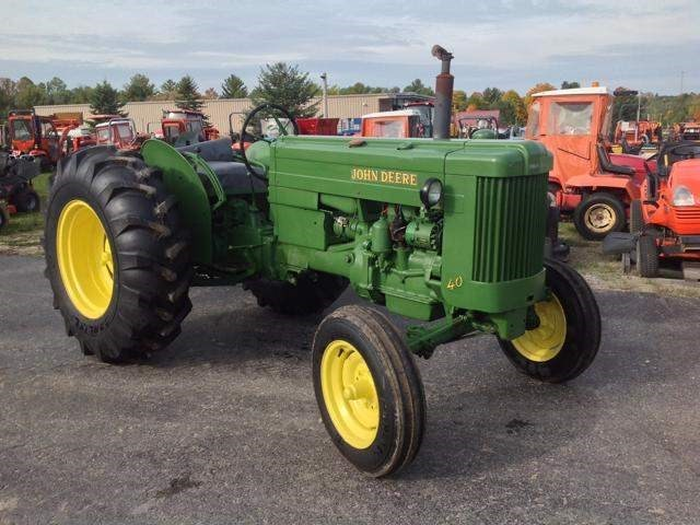 1954 John Deere 40U Tractor For Sale