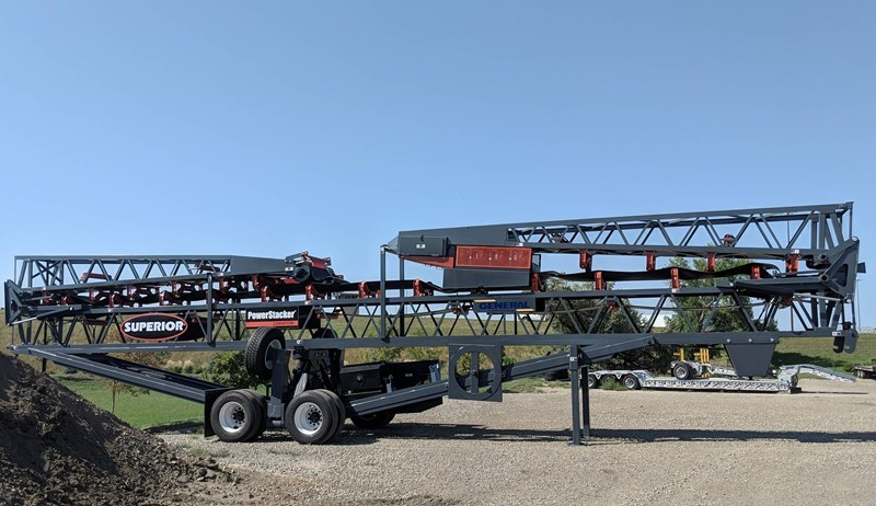 2018 Superior 30X110PS Conveyor - Stacking For Sale