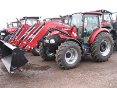 Tractor For Sale 2016 Case IH FARMALL 120C HI-LO:-CAB- North America , 117 HP