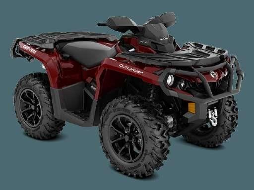 2018 Can-Am 2018 1000XT OUTLANDER RED SKU # 5TJC ATV For Sale