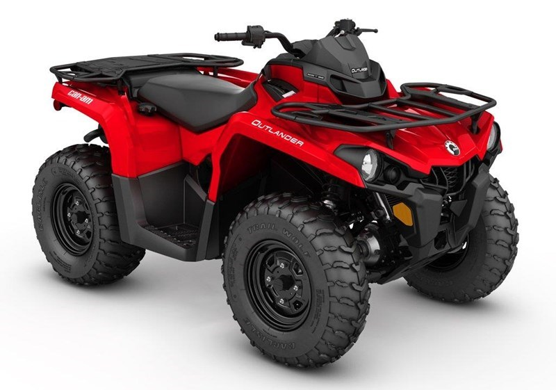 2019 Can-Am 2019 OUTLANDER 450 RED SKU # 5AKA ATV For Sale