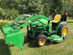 Tractor For Sale 2013 John Deere 2025R , 25 HP