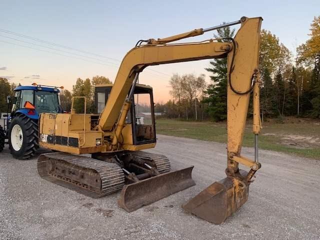 1990 Caterpillar E70B Excavator-Mini For Sale