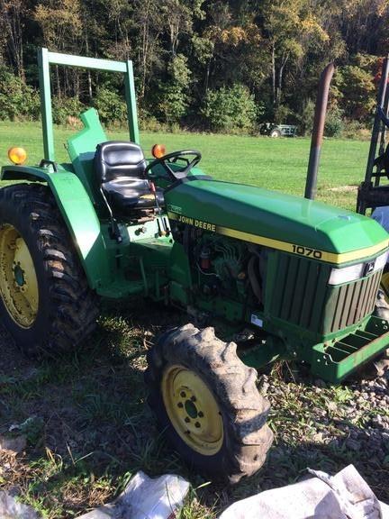 1991 John Deere 1070 Tractor For Sale