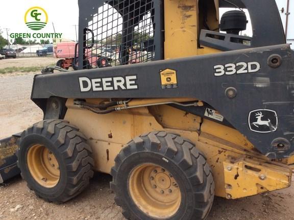 2012 John Deere 332D Skid Steer For Sale